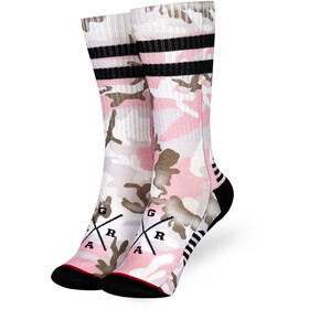 Loose Riders Technical Socks camo pink